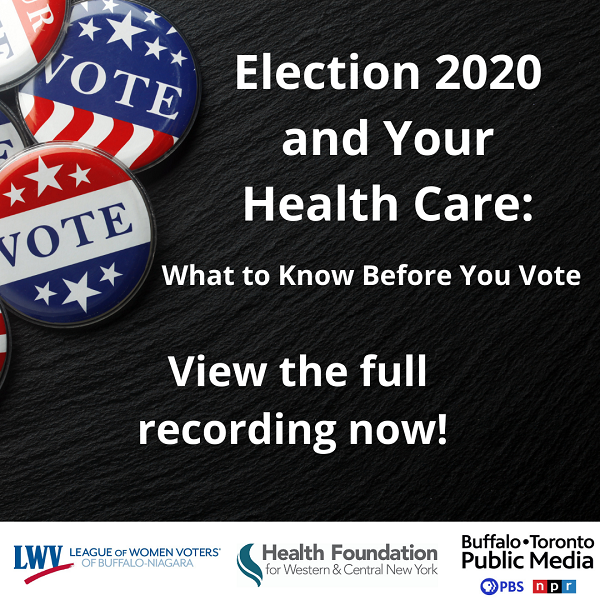 Election 2020 and Your Health Care Virtual Panel