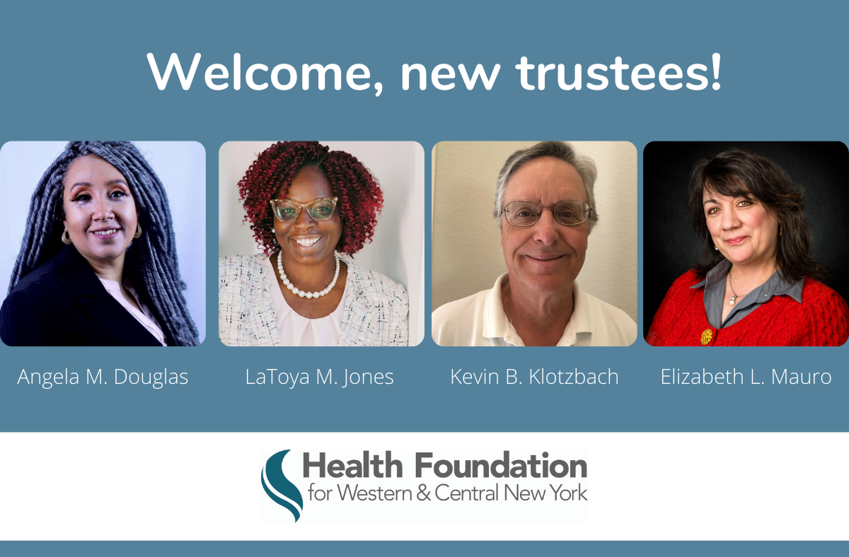 Health Foundations Welcomes Four Trustees