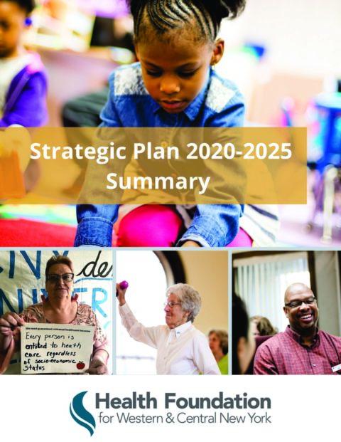 Strategic Plan Public Summary 2020 cover